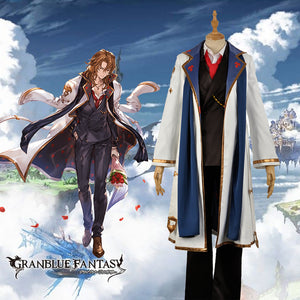 Game Granblue Fantasy The Dragon Knights Siegfried Cosplay Costume Outfit