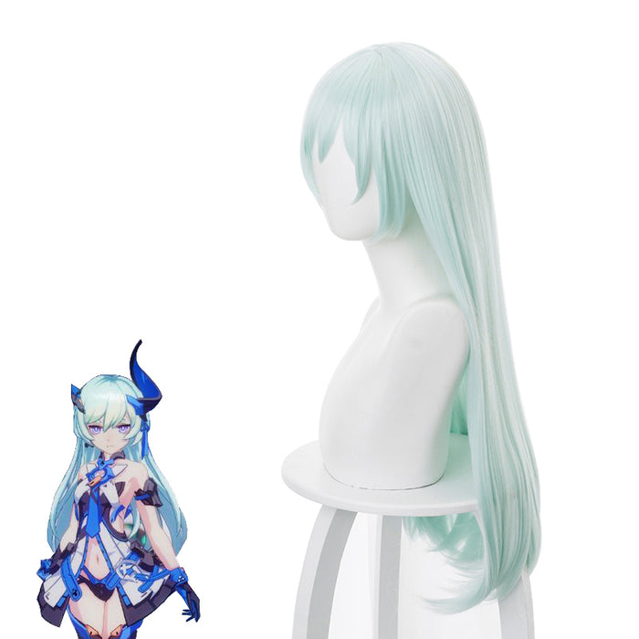 Game Honkai Impact 3 Liliya Olenyeva Mint Green Long Cosplay Wig Cosplay for Adult Women Halloween Carnival