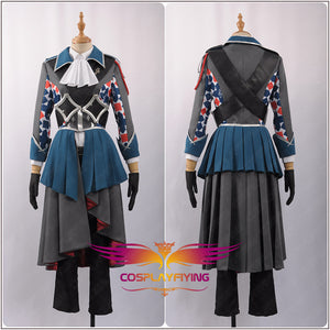 "Game IDOLiSH7 The Third Prayer ""Trigger"" Team Yaotome Gaku Cosplay Costume for Carnival Halloween"