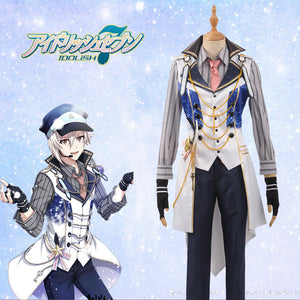 "Game IDOLiSH7 White Special Day ""Trigger"" Team Kujo Tenn Cosplay Costume for Carnival Halloween"