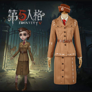 Game Identity V The Fifth Personality Air Force Army Marta Cosplay Costume for Carnival Halloween