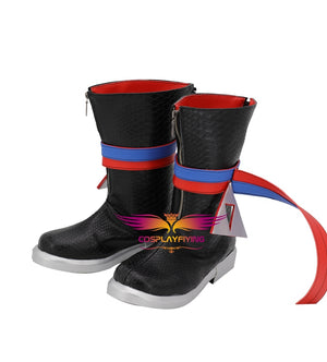 Game Idolish 7 Kujo Tenn Cosplay Shoes Boots Custom Made for Adult Men and Women Halloween Carnival