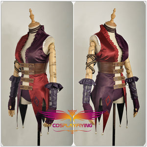 Game Injustice: Gods Among Us Ultimate Edition Harley Quinn Cosplay Costume Dress Skirt Outfit