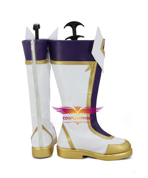Game LOL League of Legends the Prodigal Explorer Ezreal Cosplay Shoes Boots Custom Made for Adult Men and Women Halloween Carnival
