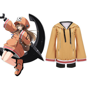 Game New Guilty Gear May Cosplay Costume Girl Hoodie Custom Made Adult Women Carnival Halloween