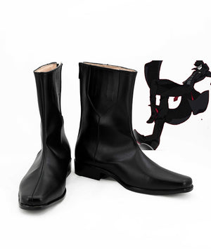 Game Persona 5 JOKER Akira Kurusu Cosplay Shoes Boots Custom Made for Adult Men and Women Halloween Carnival