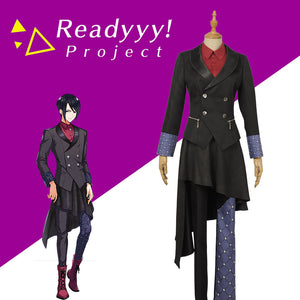 Game Readyyy RayGlanz Kousaka Ango Cosplay Costume Men Women Adult Unifrom Halloween Custom Made