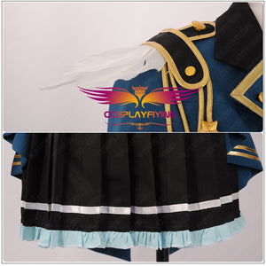 Game The Idol Master LEADER!Amami Haruka Cosplay Costume Halloween Carnival Custom Made for Adult Girls Women