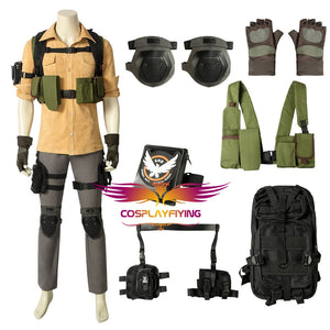 Game Tom clancy's The Division Aaron Keener Cosplay Costume Full Set for Halloween Carnival