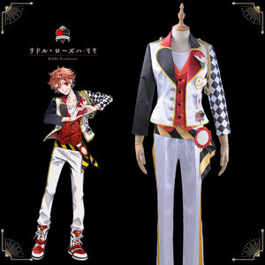 Game Twisted-Wonderland Alice in Wonderland Ace Trappola Cosplay Costume Male Uniform Outfit