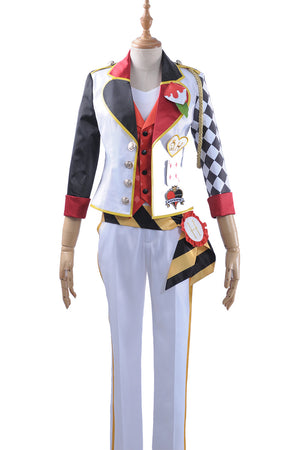 Game Twisted-Wonderland Alice in Wonderland Cater Diamond Cosplay Costume Male Uniform Outfit