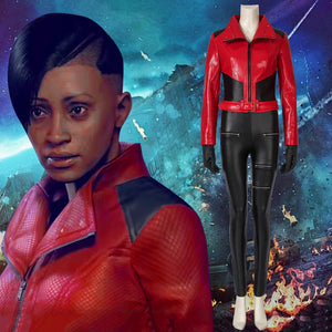 Game Watch Dogs: Legion Naomi Brooke Cosplay Costume Full Set for Halloween Carnival