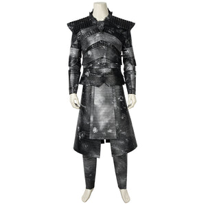 Game of Thrones Night King White Walkers Cosplay Costume for Halloween Carnival