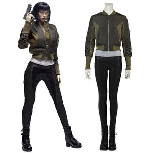 Ghost in the Shell Kusanagi Motoko Cosplay Costume Full Set for Halloween Carnival