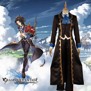 Granblue Fantasy The Dragon Knights Rheims Lance Reims Cosplay Costume