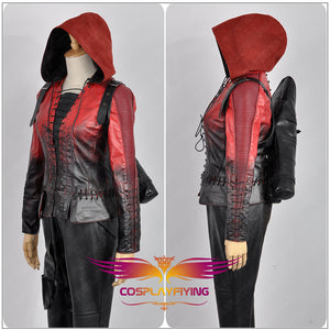 Green Arrow Season 4 Thea Queen Adult Women Outfit Clothing Cosplay Costume for Halloween Carnival