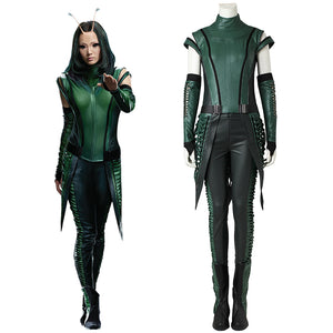Marvel Comics Guardians of the Galaxy 2 Mantis Cosplay Costume Outfit for Halloween Carnival