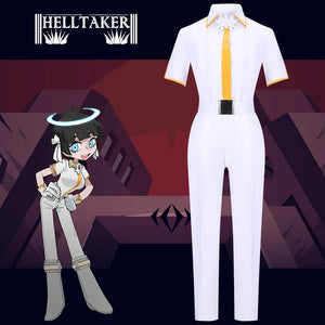 Helltaker Azazel the Curious Angel Cosplay Costume Halloween Carnival Party