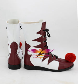 Horror Movie Stephen King's It Joker Clown Cosplay Shoes Boots Custom Made for Adult Men and Women Halloween Carnival