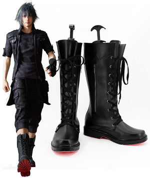 Hot Game Final Fantasy XV Noctis Lucis Cosplay Shoes Boots Custom Made for Adult Men and Women Halloween Carnival