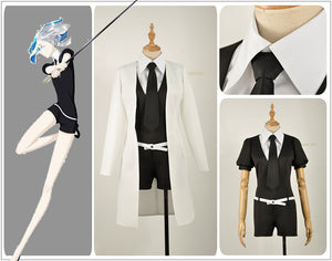 Houseki no Kuni Phosphophyllite Jumpsuits Uniform Land of the Lustrous Bort Diamond Cosplay Costume Adult Women Outfit