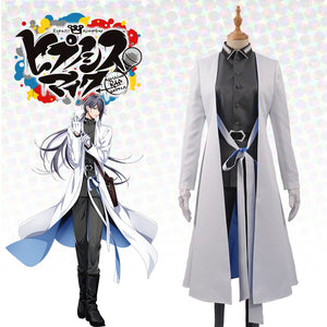 Japanese Voice Actor Division Rap Battle The Dirty Dawg Jakurai Jinguji Male Men Uniform Trench Cosplay Costume For Leisure