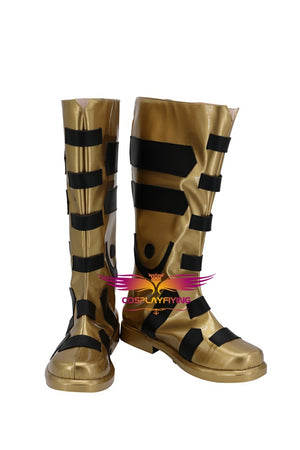 Justice League Black Adam Teth-Adam Cosplay Shoes Boots Custom Made for Adult Men and Women