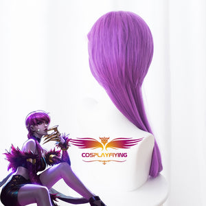 K/DA League of Legends(LOL ) Evelynn Agony's Embrace Purple Long Cosplay Wig Cosplay for Adult Women Halloween Carnival