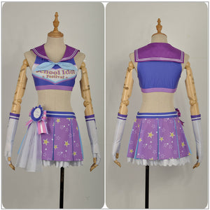 LoveLive!SunShine!! Aqours Mari Ohara Cheering Squad Cheer team Cheerleaders Awakening Cosplay Costume