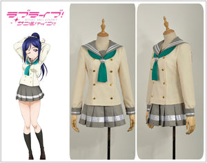LoveLive!SunShine!! Aqours Matsuura Kanan School Uniform Cosplay Costume