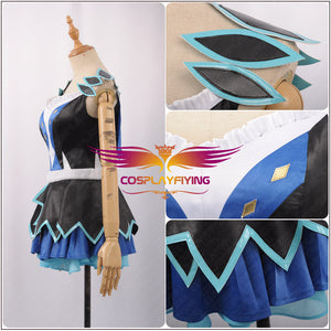LoveLive!SunShine!!Aqours Tsushima Yoshiko Activity Cards Stage Cosplay Costume Adult Outfit