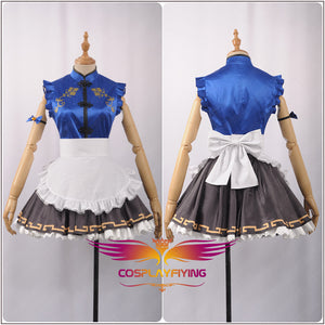 LoveLive!SunShine!! Kanan Matsuura Stage Cheongsam Unawakened Maid Cosplay Costume