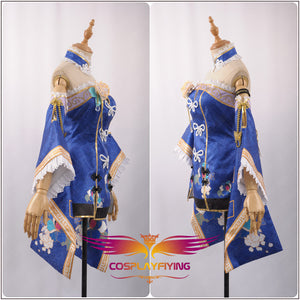LoveLive!SunShine!! Matsuura Kanan Girl Fancy Cheongsam Awakening Cosplay Costume