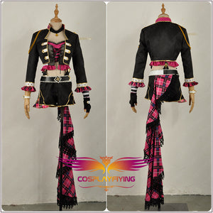 LoveLive!SunShine!! Tsushima Yoshiko Rock Awakening Stage Uniform Cosplay Costume