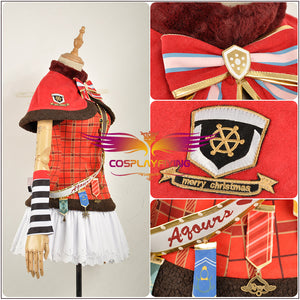 LoveLive!Sunshine!! Christmas Choir Awaken Takami Chika Cosplay Costume Outfit