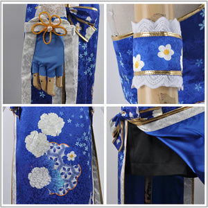 Love Live! 2 Dancing Stars on Me Sonoda Umi Cosplay Costume Custom Made for Girls Adult Women Halloween Carnival Party Outfits