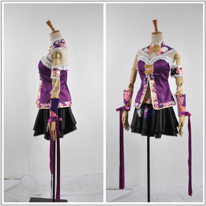 Love Live! 2 Dancing Stars on Me Tojo Nozomi Cosplay Costume Custom Made for Girls Adult Women Halloween Carnival Party Outfits