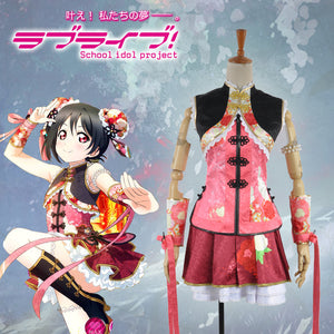 Love Live! 2 Dancing Stars on Me Yazawa Niko Cosplay Costume Custom Made for Girls Adult Women Halloween Carnival Party Outfits