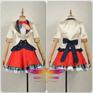 Love Live! All Stars! Yuki Setsuna Stage Dress Concert Cosplay Costume Adult Women Fancy Outfit Clothing