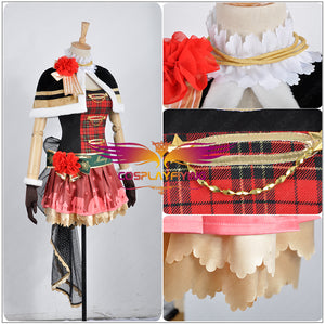 Love Live! Christmas Awakening Ayase Eli Cosplay Costume Custom Made for Girls Adult Women Halloween Carnival Party Outfits