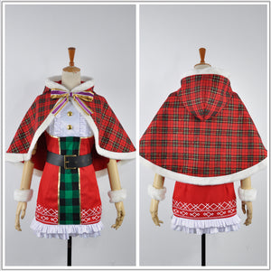 Love Live! Christmas Dress Awakening Card Tojo Nozomi Cosplay Costume for Halloween Carnival
