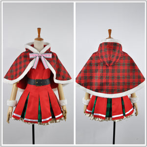 Love Live! Christmas Dress Awakening Card Yazawa Niko Cosplay Costume for Halloween
