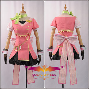 Love Live! Koizumi Hanayo Sky Awakening Girl Cosplay Costume Stage Dress
