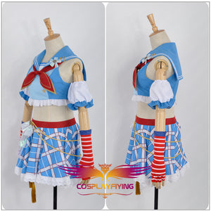 Love Live! Navy Awakening Hanayo Koizumi Cosplay Costume Custom Made for Girls Adult Women Halloween Carnival Party Outfits