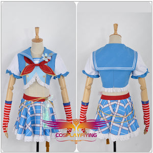 Love Live! Navy Awakening Navy Nico Yazawa Cosplay Costume Custom Made for Girls Adult Women Halloween Carnival Party Outfits