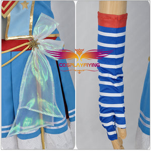 Love Live! Navy Awakening Sonoda Umi Cosplay Costume Custom Made for Girls Adult Women Halloween Carnival Party Outfits