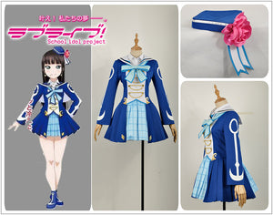 Love Live! Sunshine!! Aqours Kurosawa Dia All Members OP2 Stage Dress Concert Cosplay Costume
