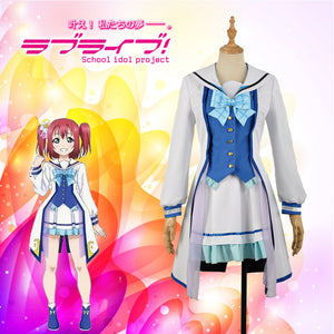 Love Live! Sunshine!! Aqours Kurosawa Ruby All Members OP2 Stage Dress Concert Cosplay Costume