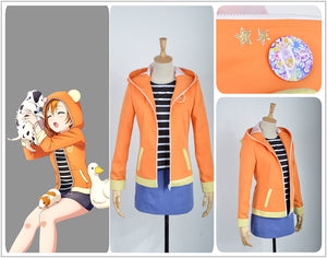 Love Live! Unawakened Animal Kousaka Honoka Sportswear Cosplay Costume for Halloween