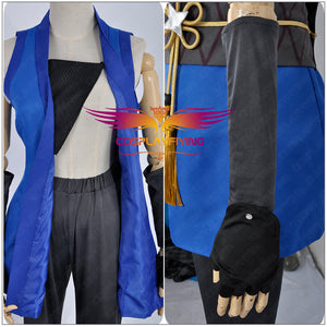 Love Live! Unawakened Ninja Shinobi Sonoda Umi Kimono Cosplay Costume for Halloween